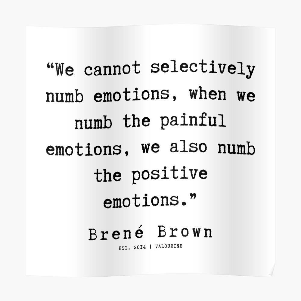 76  |190911 | Brene  Brown Quote  | Poster by valourine