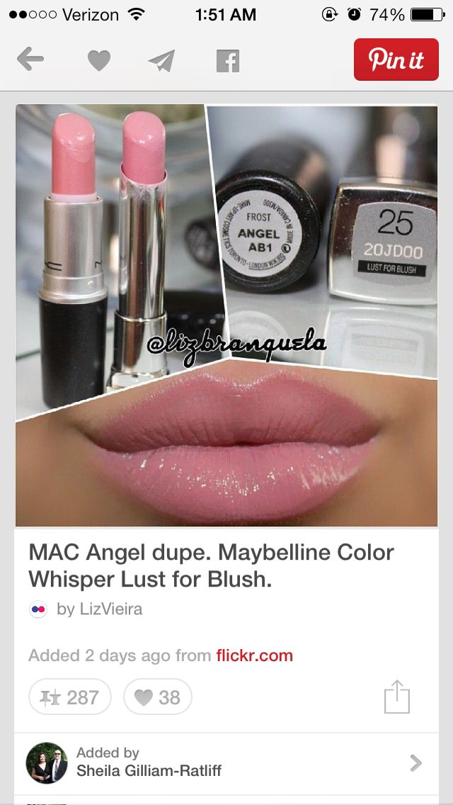 Mac Angel Dupe Wet N Wild 901b Lipstick Dupe: Always Have Loved The Color Angel