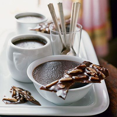 Chocolate crème brûlée from Sunset Magazine #valentine #dessert