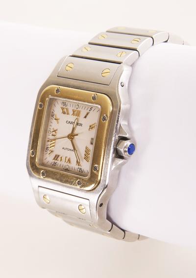 18076c56054 Rare limited edition guilloche dial Cartier Santos Watch #www.wmharold.com  Elegant Watches