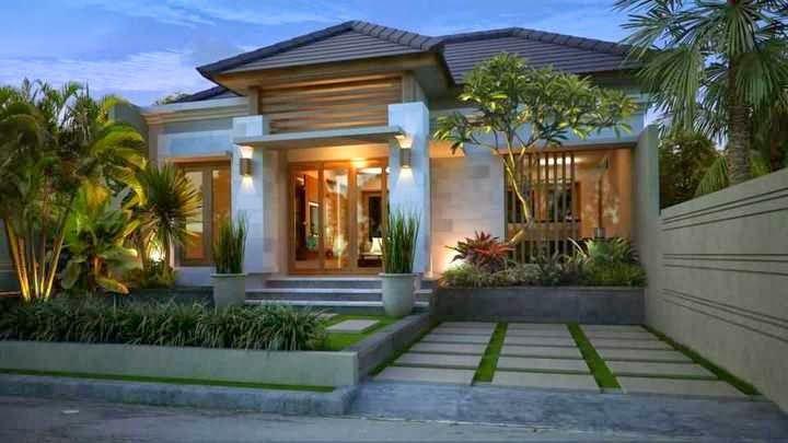 rumah minimalis gaya bali 8 dreamy house pinterest