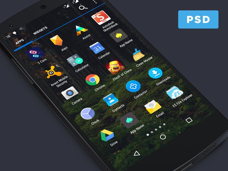 Android App Icon Menu Mockup Android App Icon Mobile App Icon App Icon