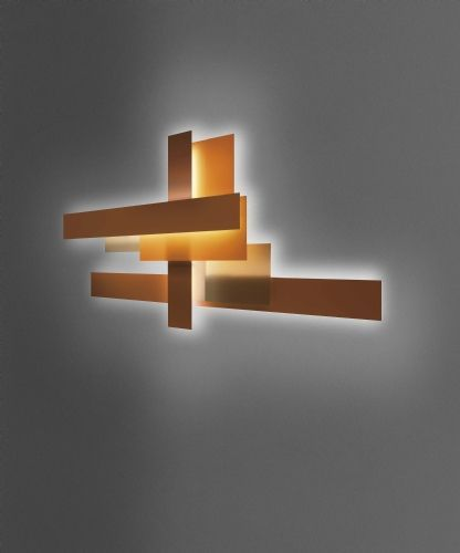 fields wall light by foscarini designer wall light awhiteroom - Designer Wall Lamps