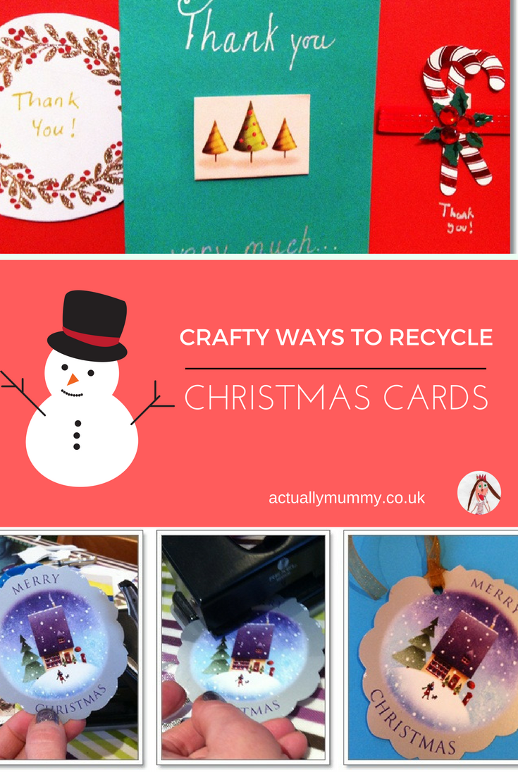 How To Recycle Your Christmas Cards Christmas Cards Cards And