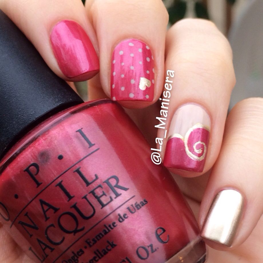 OPI Nice Color, Eh? (discontinued) with Essie Sand Tropez and Good ...