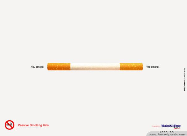 top creative ads made to stop you smoking guerrilla and smoking campaigns