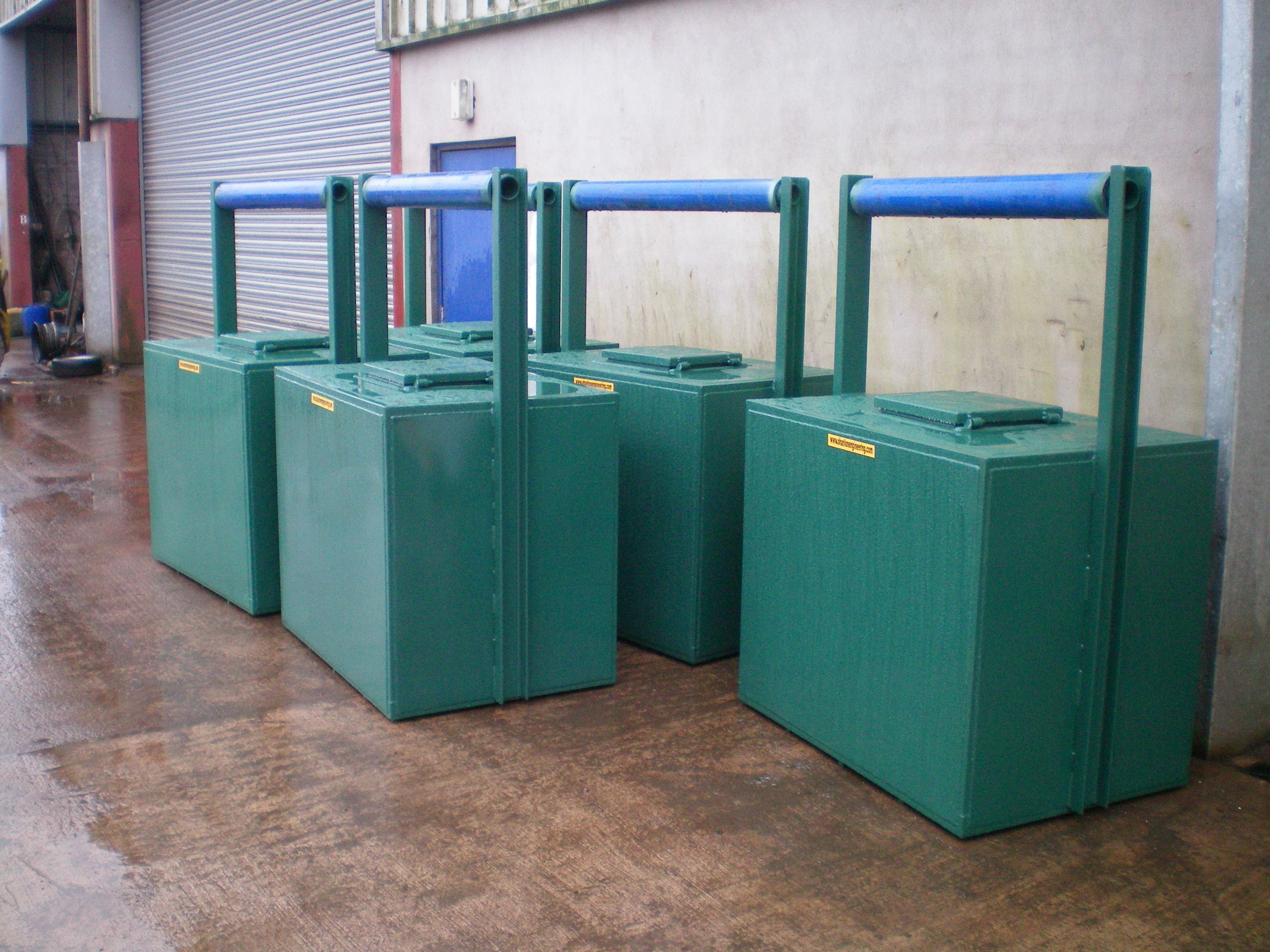Batch of our 600 litre tanks...