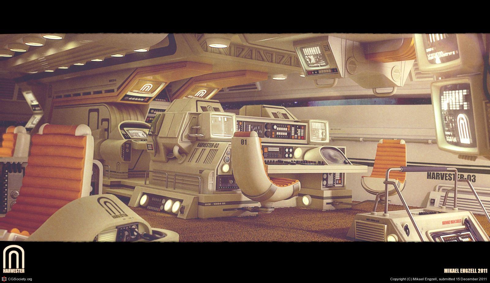 Pin by christian park on design futuristisch zukunft for Sci fi decor