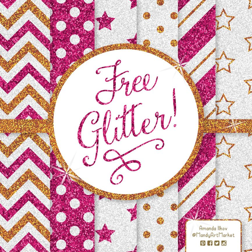 It is a graphic of Impertinent Printable Glitter Paper