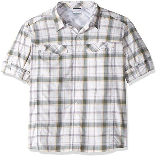 b01e142e42b Cover: Columbia Men's Silver Ridge Plaid Long Sleeve Shirt, Stone/Window  Pane.