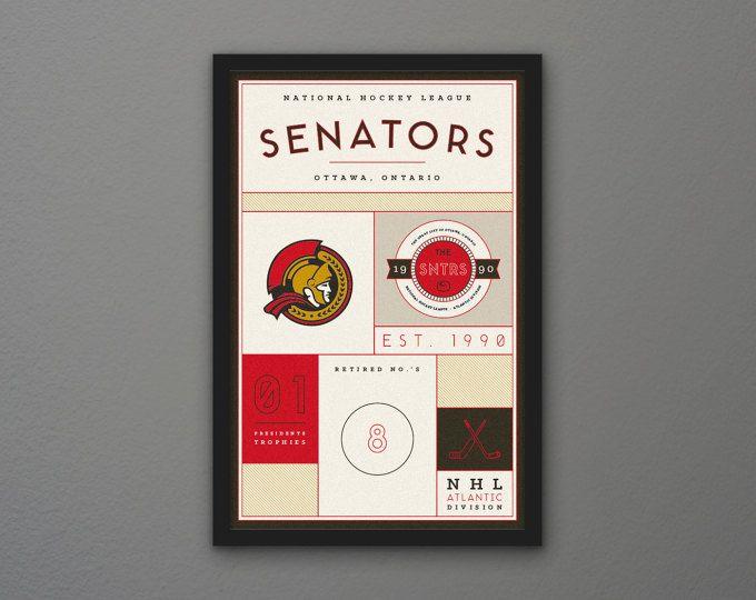Ottawa Senators Stats Print | Unique items products ...