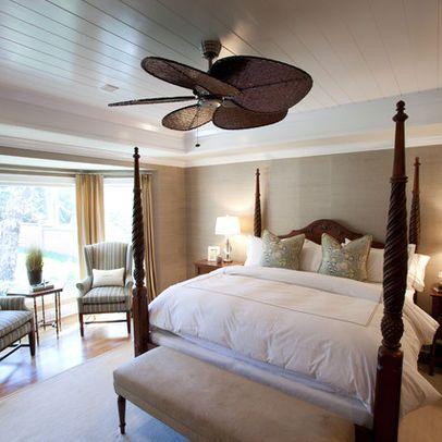 British Colonial Master Suite British colonial bedroom
