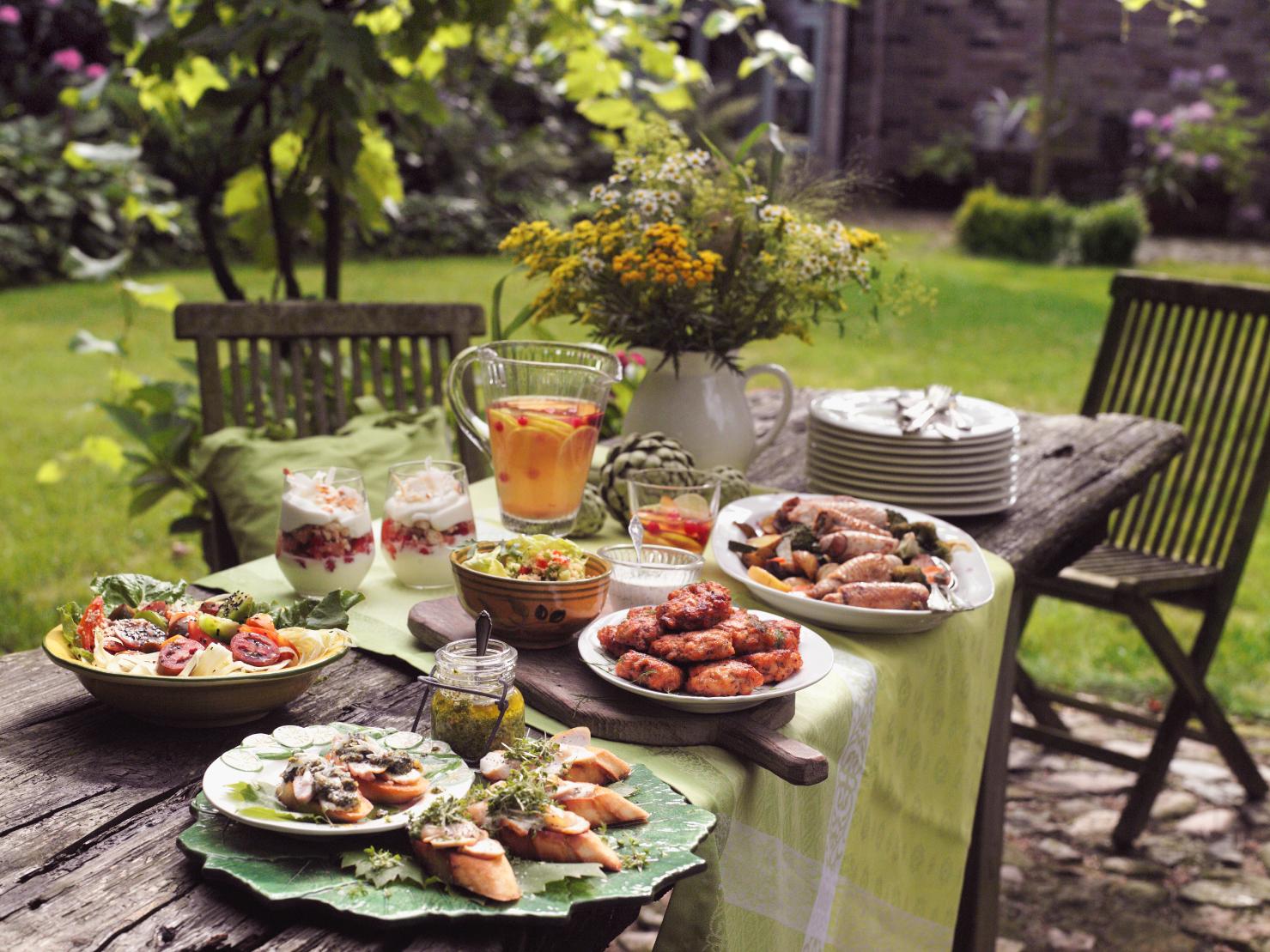 Gartenparty, Snacks, Grillen (Heft: Juni 2014) Foto ...