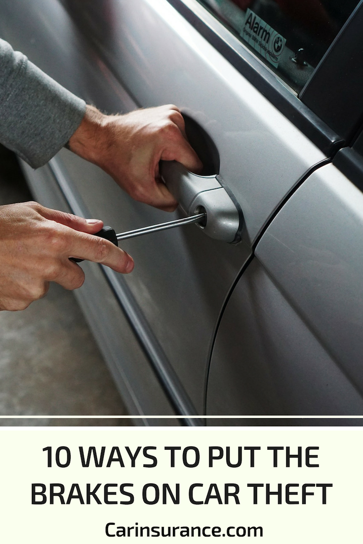 Here Are 10 Auto Theft Deterrents Many Of Which May Earn You A