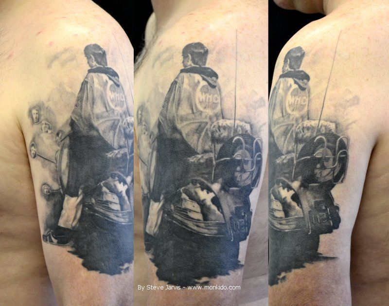 Quadrophenia Tattoos Google Search White Rose Tattoos Tattoos I Tattoo