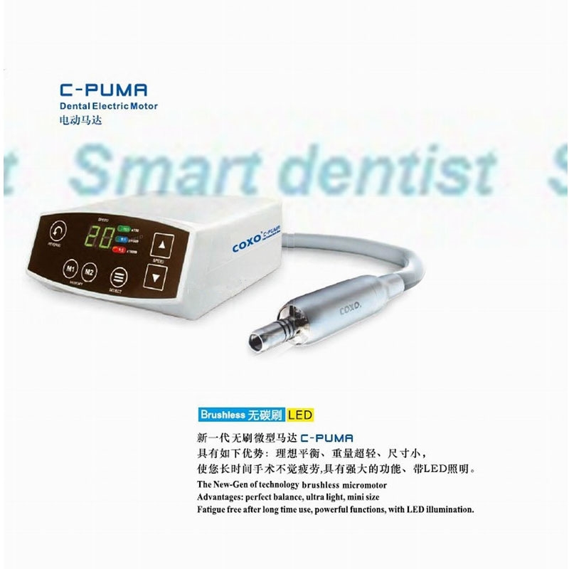 563.89$  Watch now - 2016 COXO New Dental C-PUMA LED Brushless Micromotor electric motor dental LED micro motor  #shopstyle