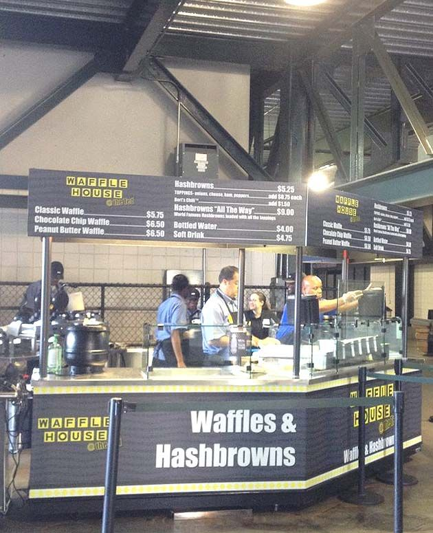 Waffle House Opens At Turner Field On Friday Waffle