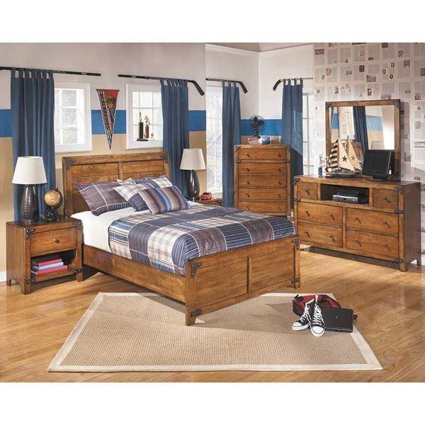 Best Afw Delburne Youth 5 Piece Bedroom Set B362 5Pcset 400 x 300