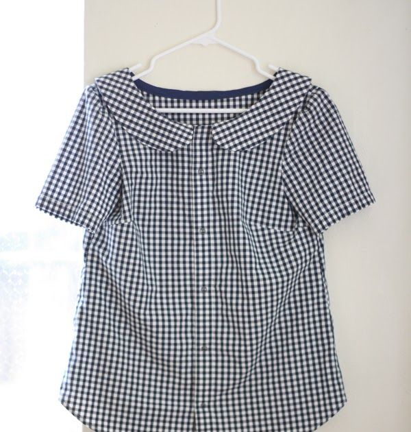I wasn\'t kidding when I said I\'m obsessed with black gingham right ...