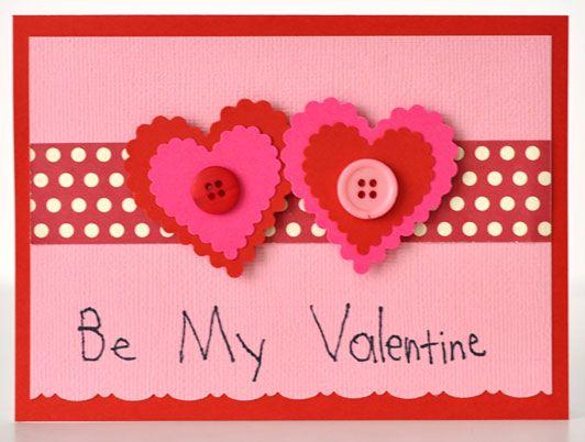 Kids Crafting Be My Valentine Card Teacher Gifts Fiskars
