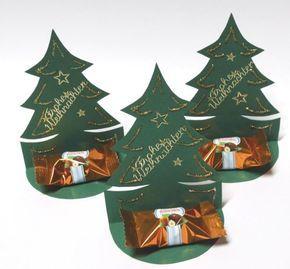 Süße Tannenbäume #kleinigkeitenweihnachten