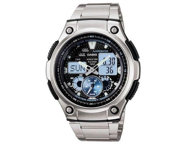 46a7876f978 Relógio Casio AQ 190WD 1AV Masculino Esportivo Anadigi - Relógios - Magazine  Luiza