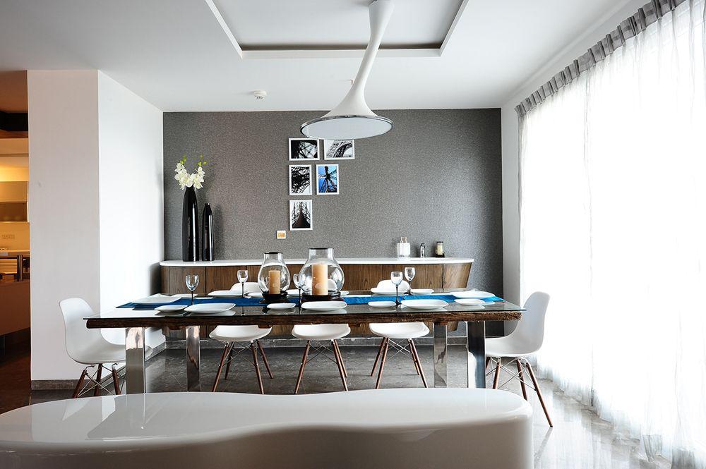 Large Dining Area  Designarchitect Hameeda Sharma India Unique Pictures Of Decorated Dining Rooms 2018