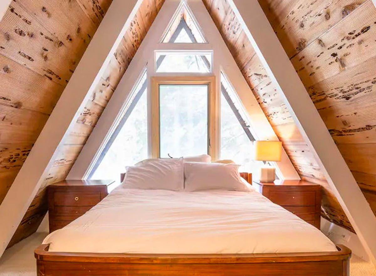 Explore lake tahoe from this idyllic aframe lake tahoe