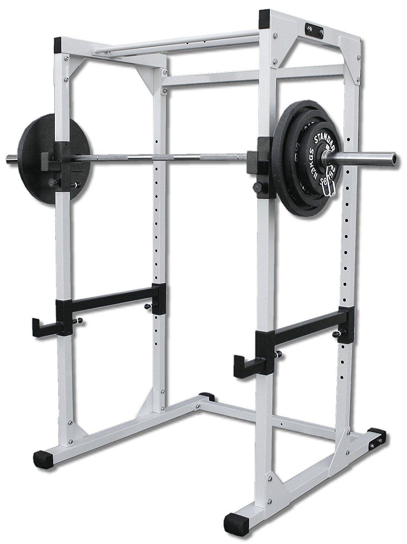 Deltech Fitness Power Rack/ Squat Rack Pole sport, Casas