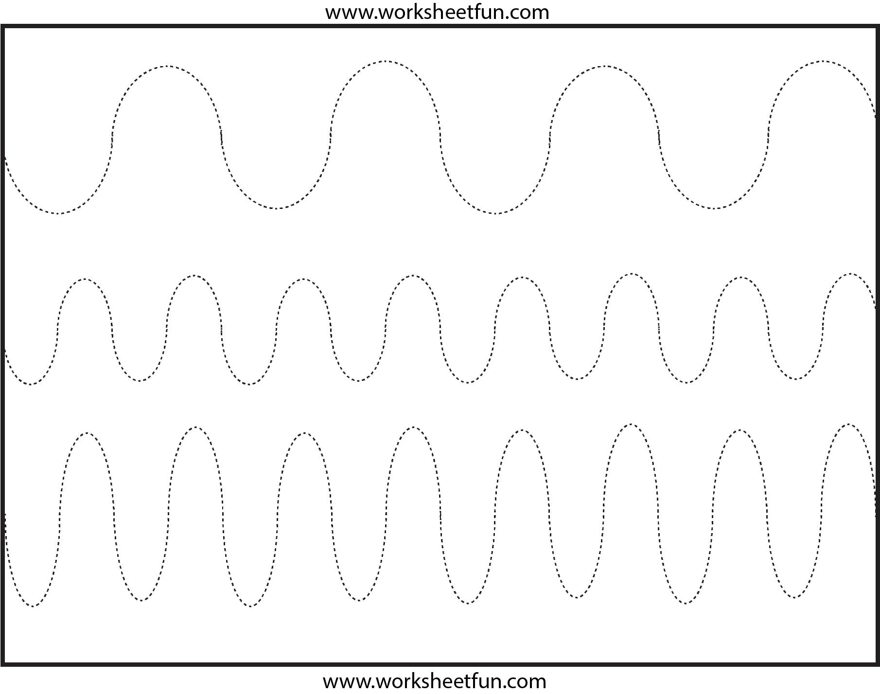 Curved Line Tracing