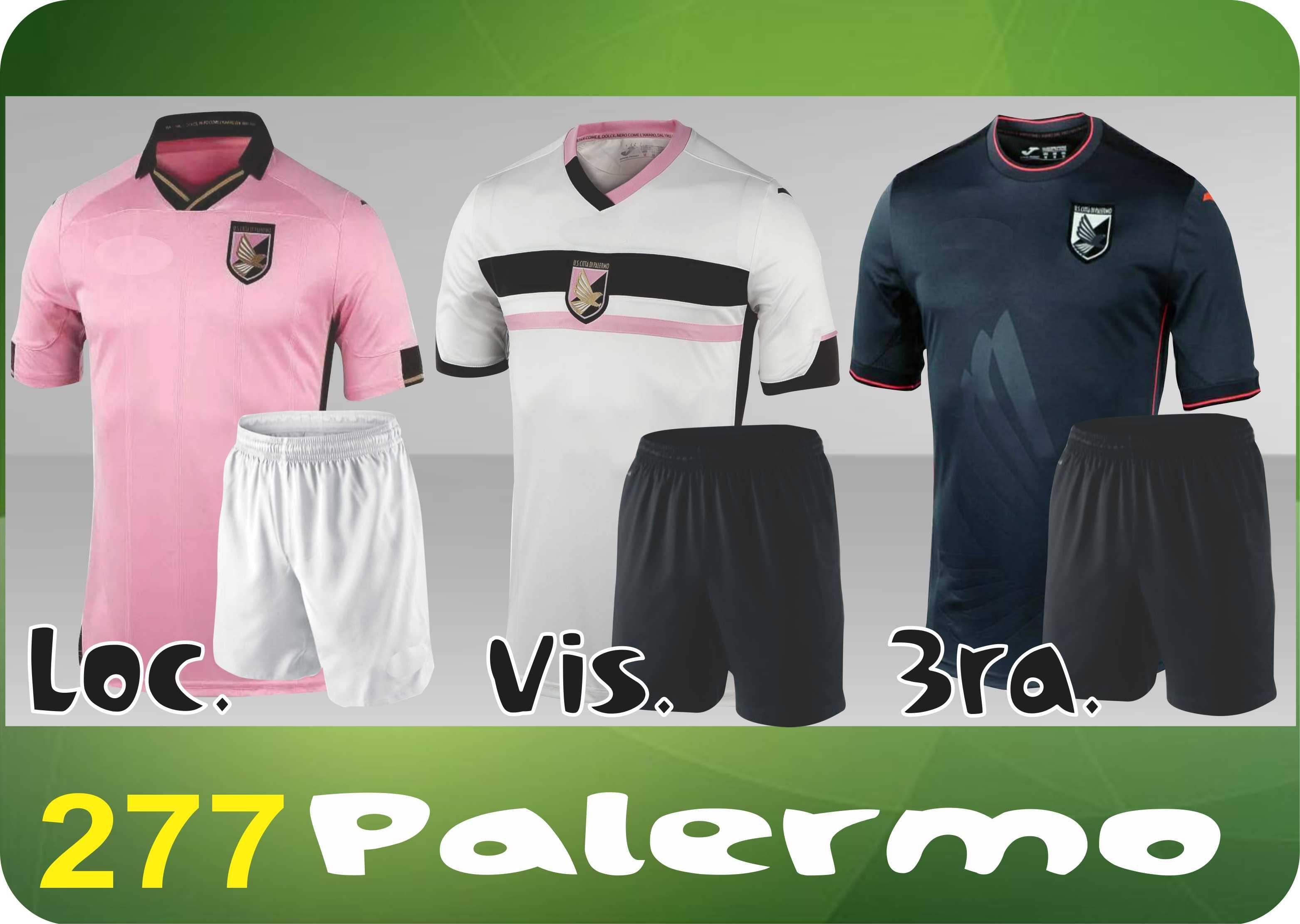 UNIFORME SOCCER DRI FIT. Mod. 277 PALERMO Uniformes De Futbol d62e40ae393