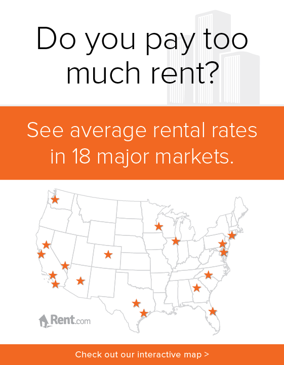 Average Rental Rates In Major Cities Rent Com Blog Rental Moving To Seattle Decorating Tips