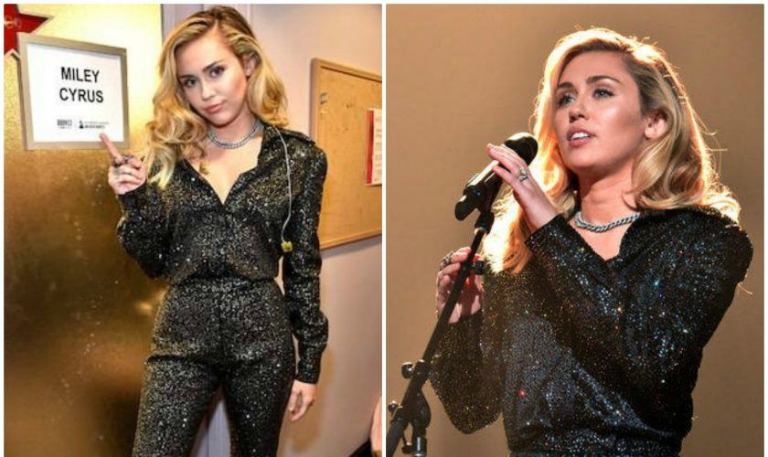 Miley Cyrus In August Getty Atelier 2018 MusiCares Gala