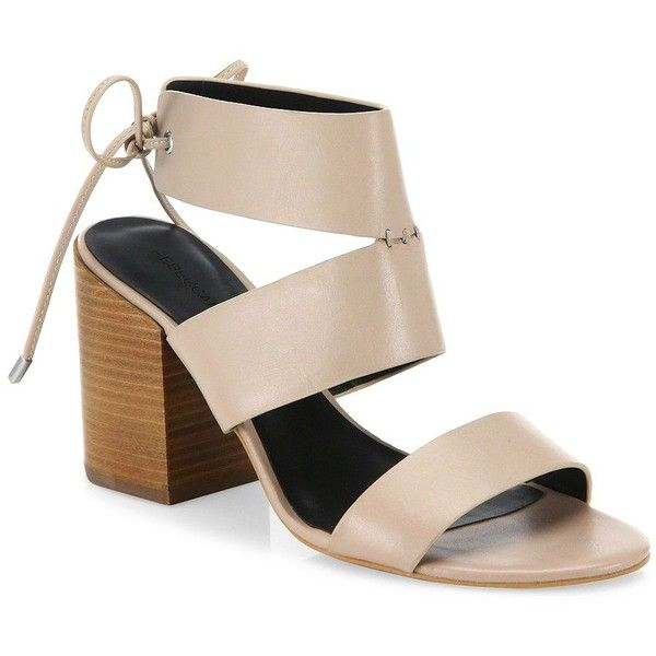 Chinese Laundry All In Block Heel Sandal in White Nude