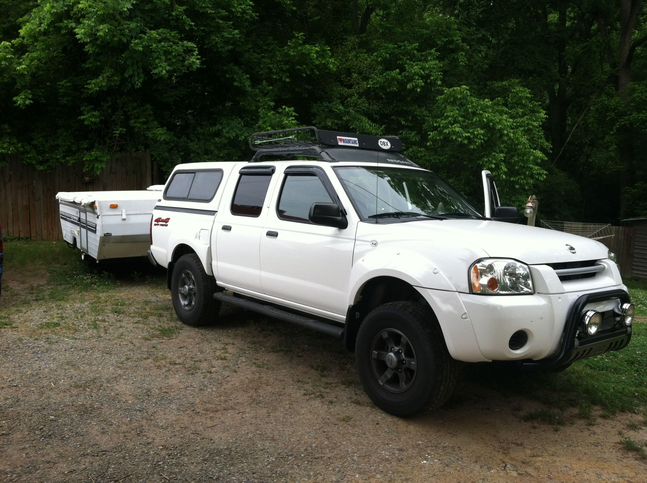2016 nissan frontier sv truck crew cab frontier pinterest my 2004 nissan frontier and new to us 1993 palomino filly pop up camper vanachro Image collections