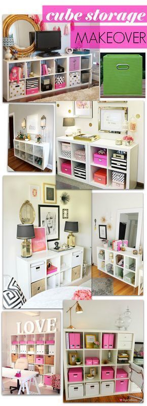 Diy Cube Storage Makeover Inspo In 2020 Cube Storage Bedroom Diy Cube Storage Cube Storage