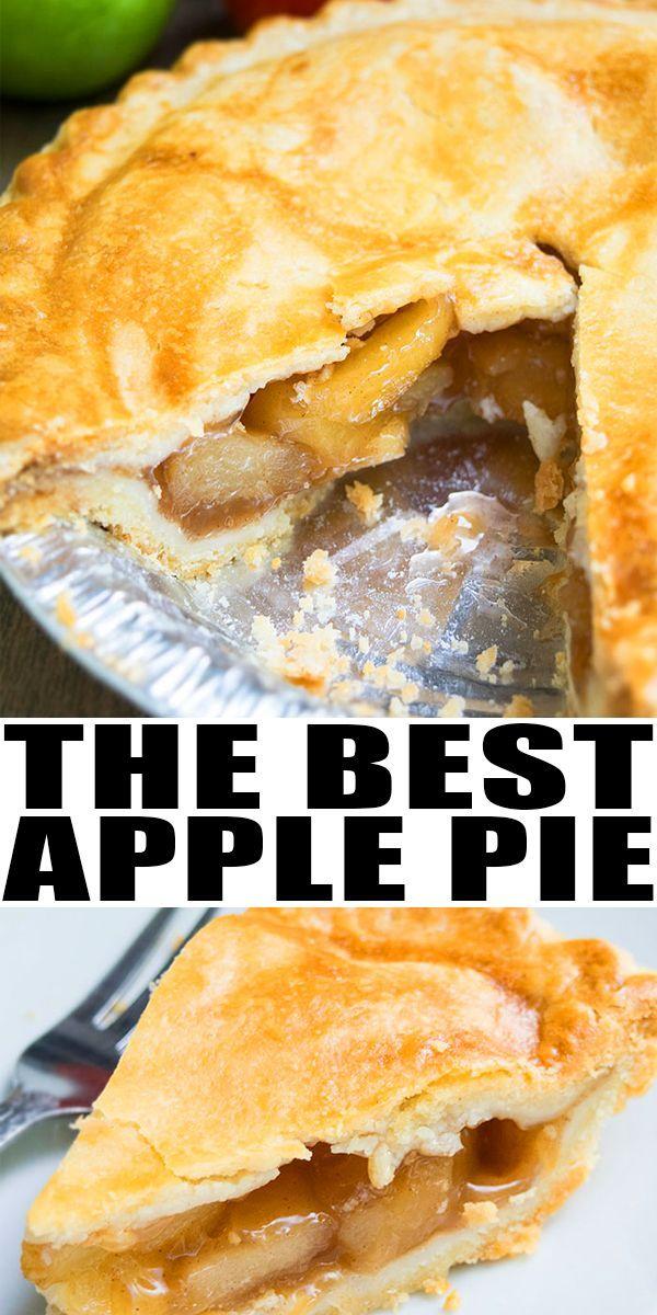 Easy Homemade Apple Pie Recipe EASY APPLE PIE RECI