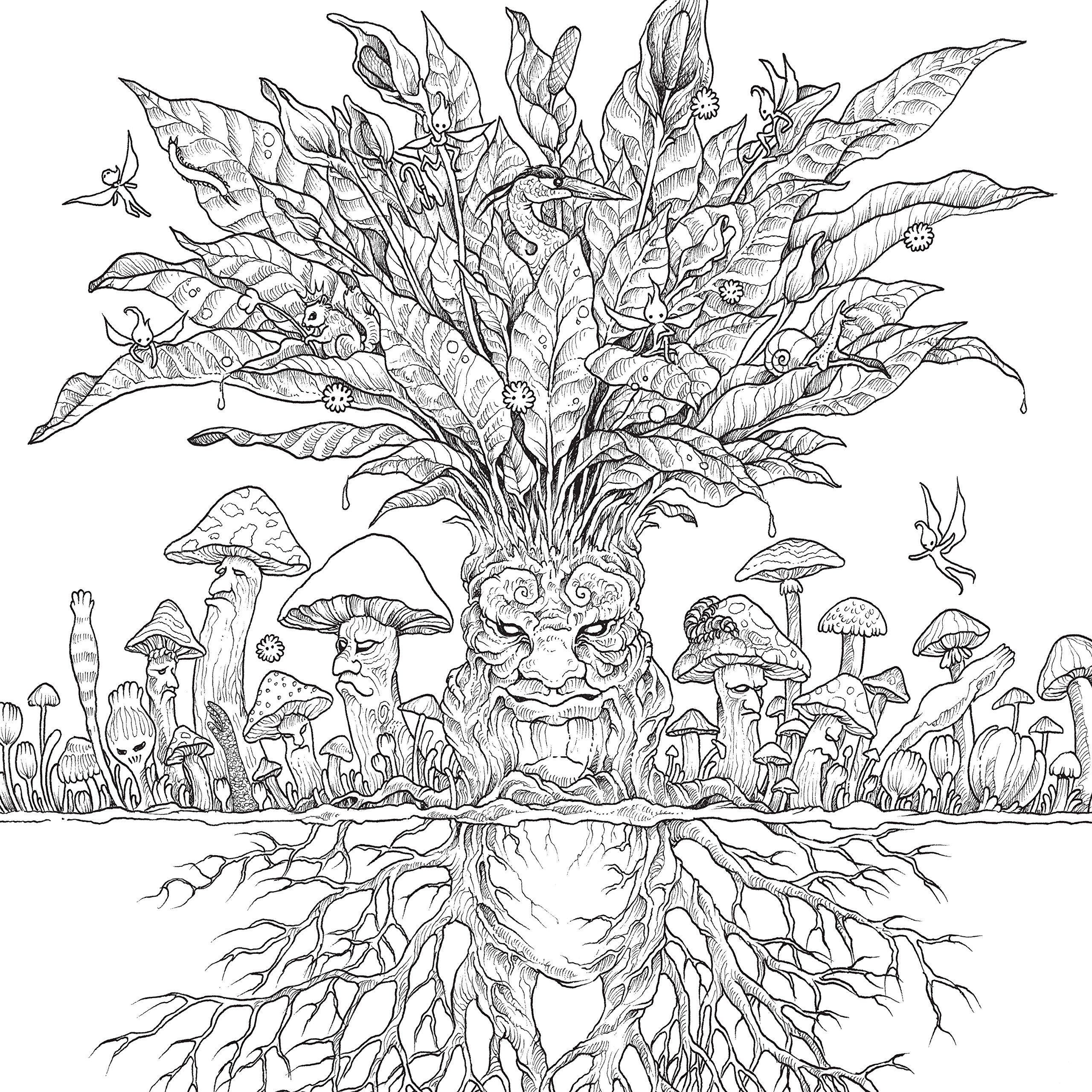 Fantomorphia An Extreme Colouring And Search Challenge Kerby Rosanes Extreme Colouring Amazon Co Steampunk Coloring Coloring Book Art Detailed Coloring Pages [ 2560 x 2560 Pixel ]