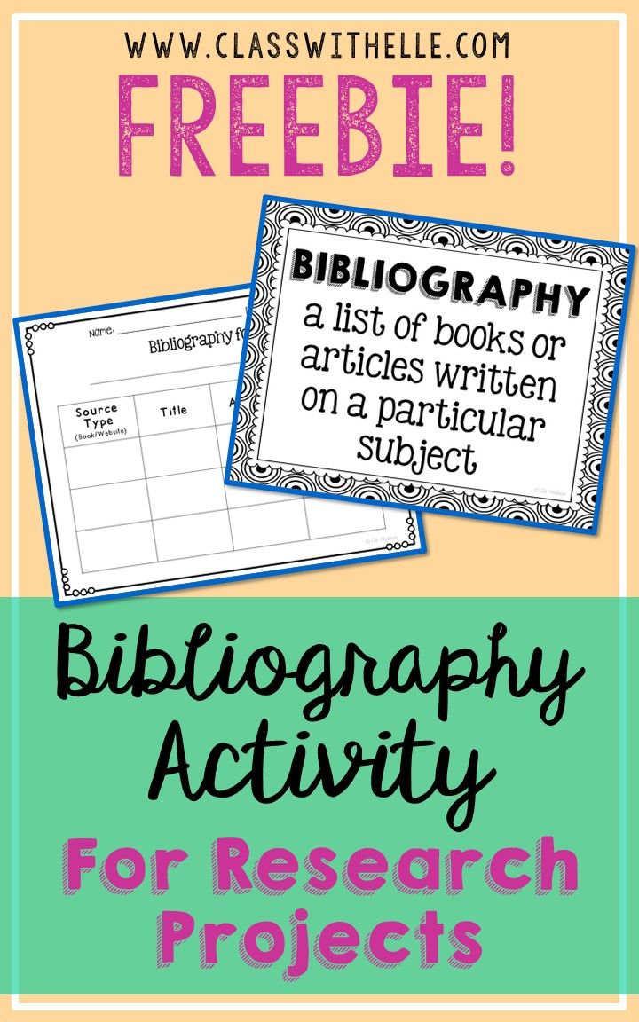 uses of bibliography in research
