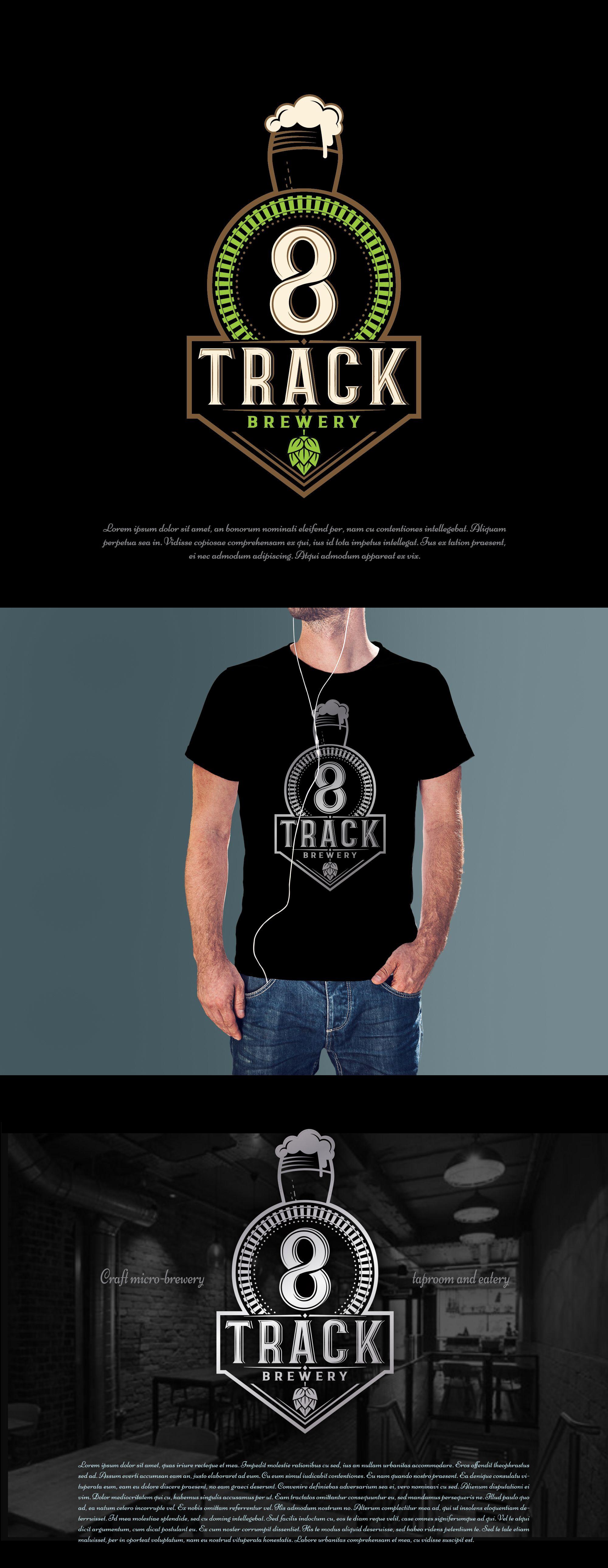 8 Track 99designs Logo design, Mens tops, Mens tshirts