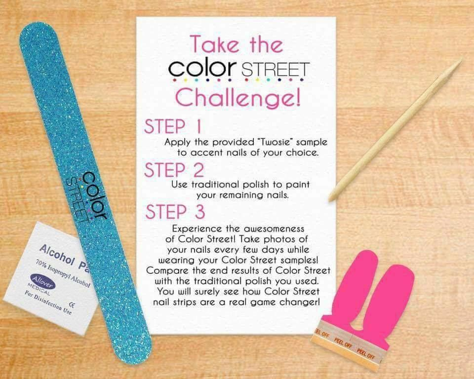 Never Heard Of Color Street Stop By My Facebook Business Page And Request A Free Sample