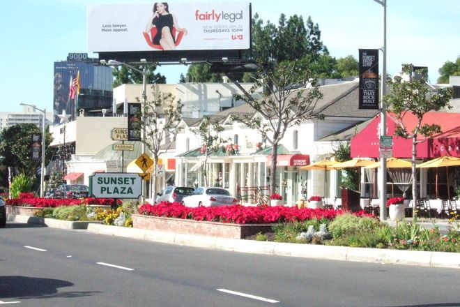 Photo Of Sunset Strip Nightlife Area Outdoor Activity Shopping