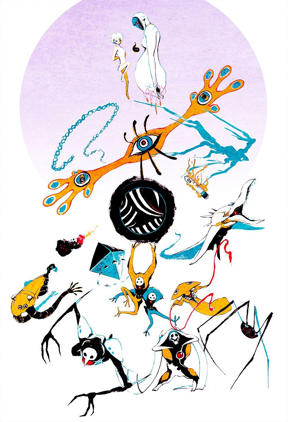 scizlor Neon genesis evangelion, Arte de anime, Neon genesis