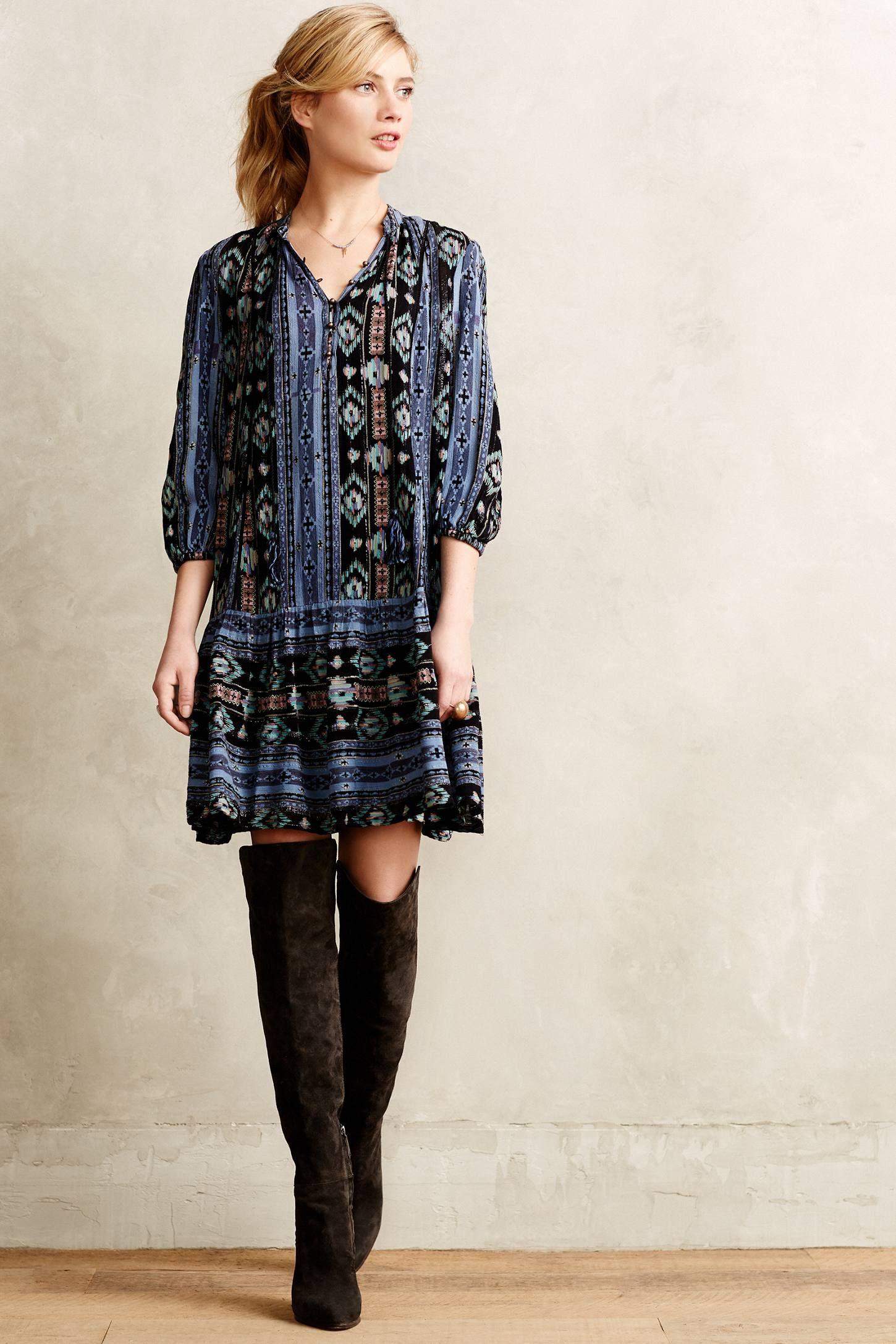 Winter Moon Tunic Dress - anthropologie.com | BOHO | Pinterest