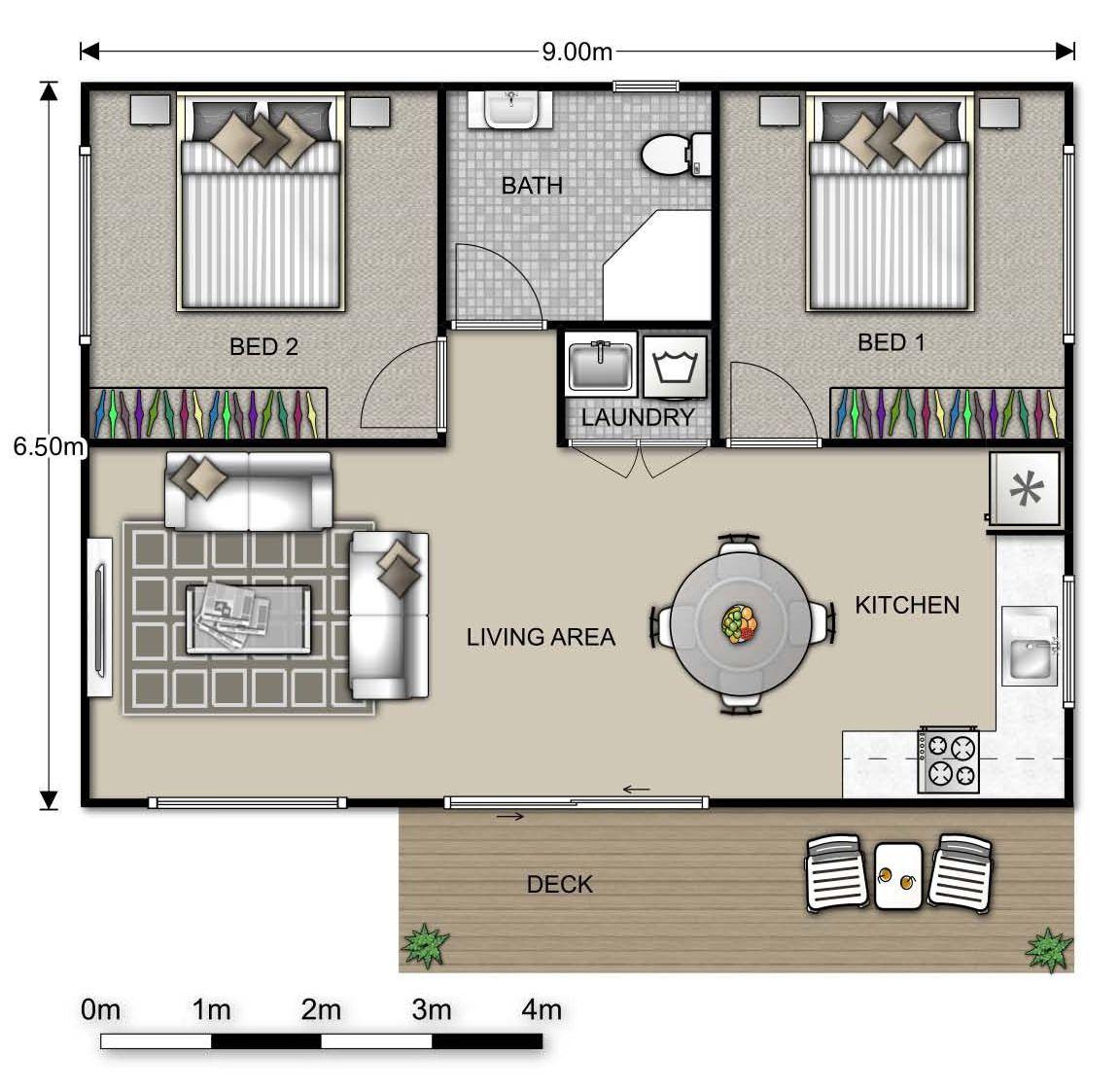 Double Garage Conversion To Granny Flat Floorplans Novocom Top