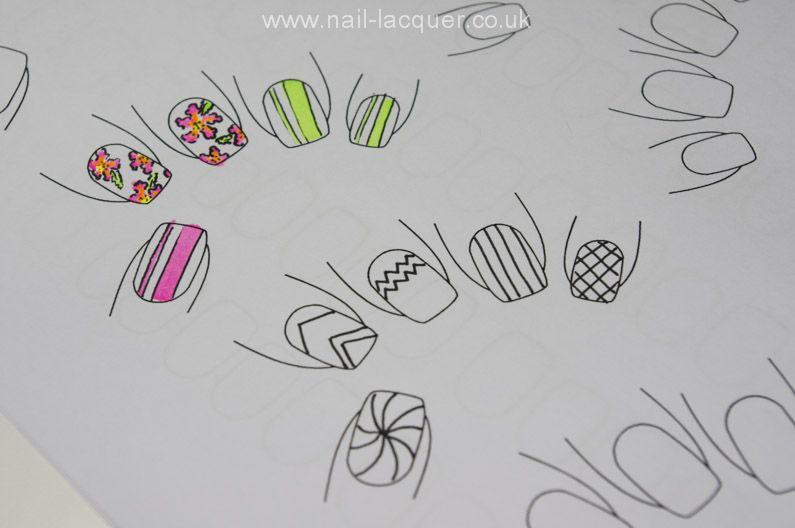 graphic about Printable Nail Art named Down load Printable nail artwork templates Magnificence in just 2019 Artwork
