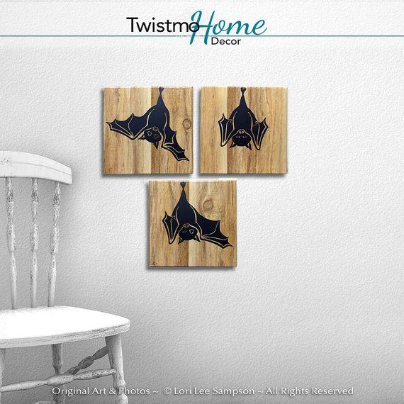 Halloween Decor Cute Bats, Halloween Bat Decorations, Bat Lover Faux - halloween cute decorations