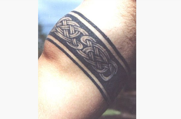 Viking Armband Tattoo Designs: 17 Celtic Armband Tattoos Designs