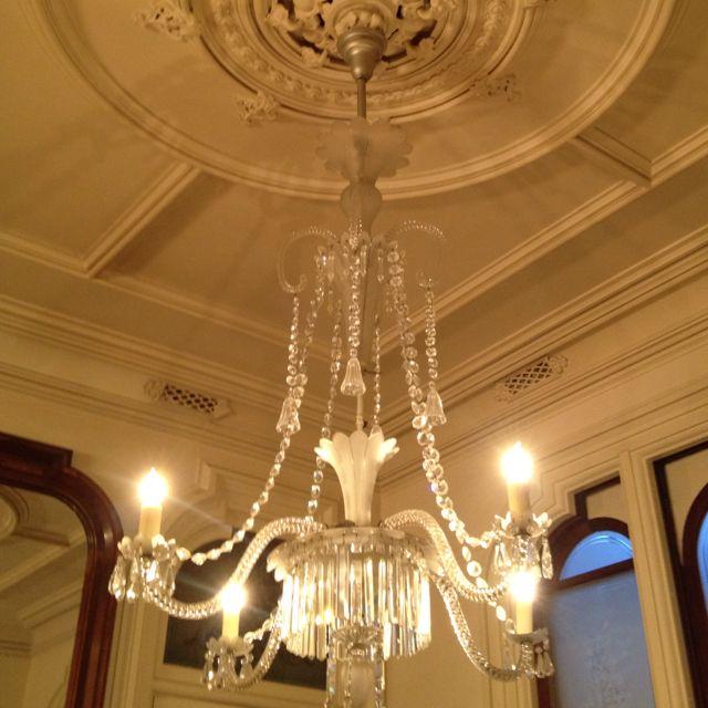 Mansion Dining Room: Ralston Mansion Dining Room Medallion
