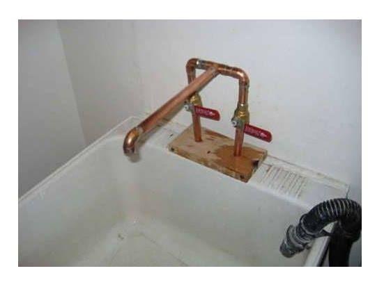 Grifo hecho con tubos de cobre tubos cobre pinterest for Grifos de cobre